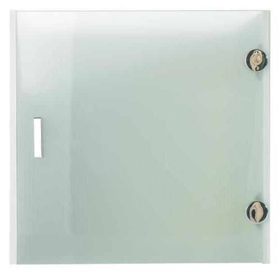 Vrata Space - bela/krom, Konvencionalno, umetna masa/leseni material (35/35/33cm) - Based