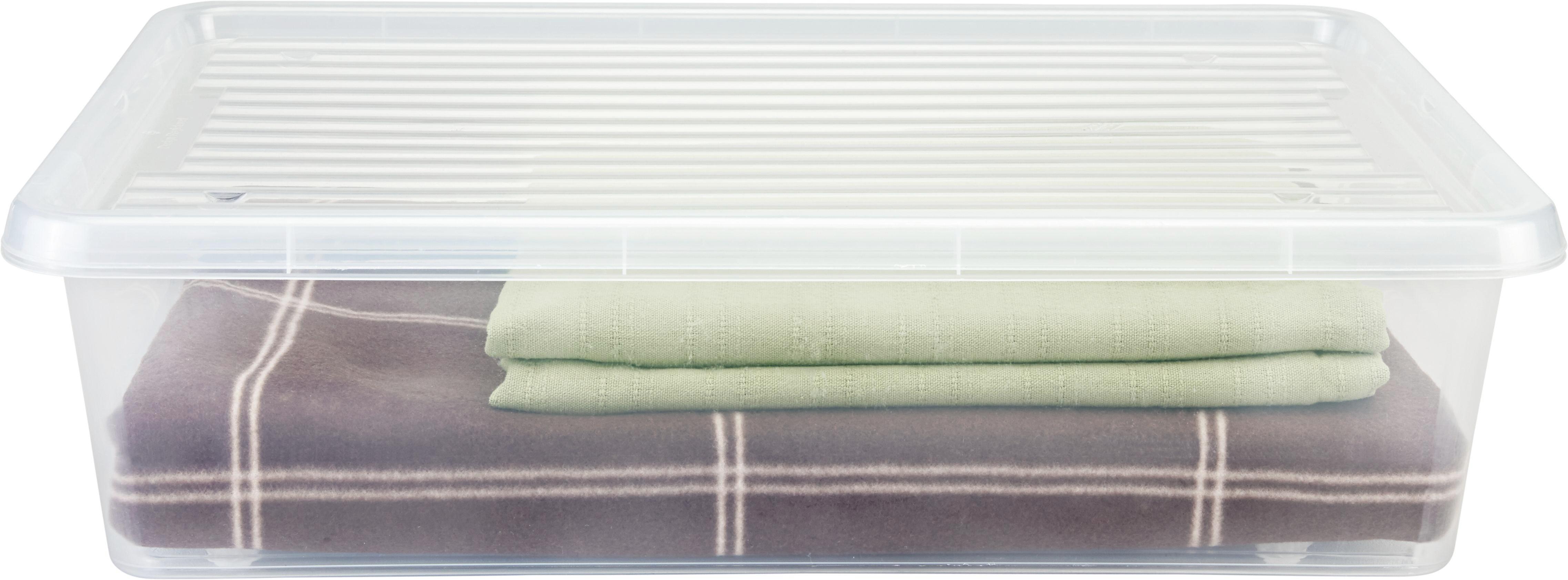 Ágy Alatti Tároló Aiko - tiszta, műanyag (57/39/17cm) - MÖMAX modern living