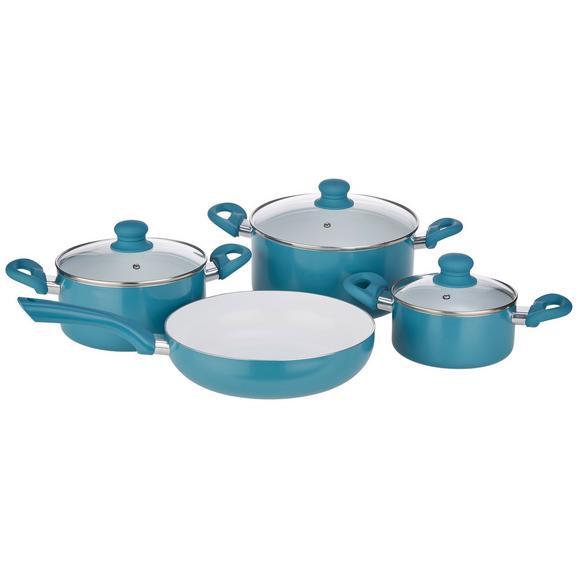 Set Oale Pentru Gătit Susi - petrol/clar, Modern, ceramică/plastic - Mömax modern living