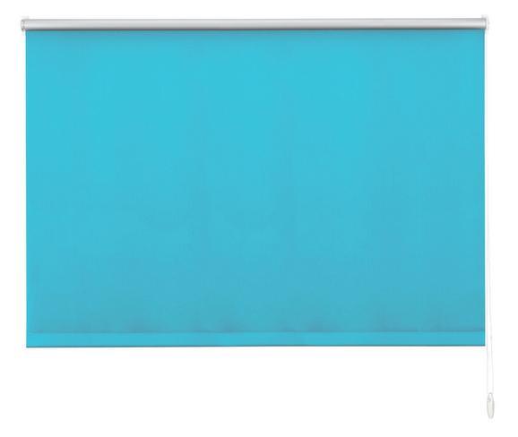 Klemmrollo Thermo in Petrol, ca.120x150cm - Petrol, Textil (120/150cm) - Premium Living