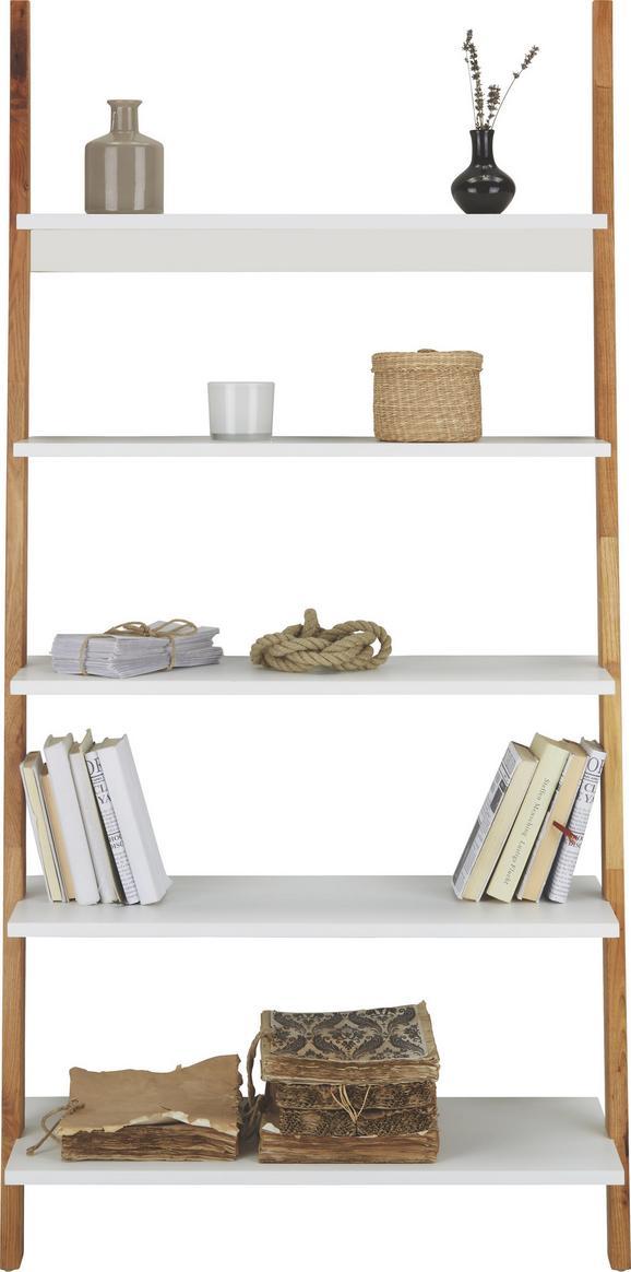 Polc Durham - natúr színek/fehér, modern, fa/faanyagok (85/170/40cm) - MÖMAX modern living