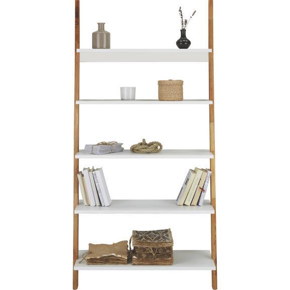 Regal Durham - naravna/bela, Moderno, leseni material/les (85/170/40cm) - Mömax modern living