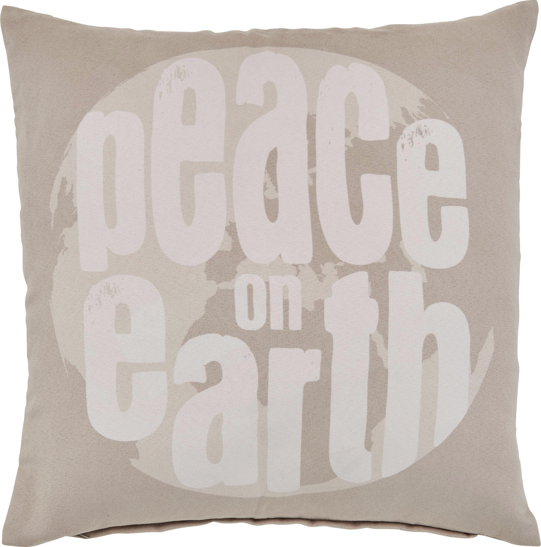Díszpárna Peace - bézs, romantikus/Landhaus, textil (45/45cm) - MÖMAX modern living