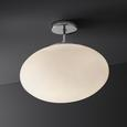Deckenleuchte max. 40 Watt 'Ionela' - Chromfarben, MODERN, Glas/Metall (40/33,5cm) - Bessagi Home