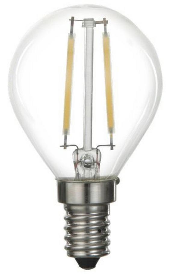 LED-Leuchtmittel 89563, max. 4 Watt - Weiß, KONVENTIONELL, Kunststoff/Metall (4,6/7,6cm)