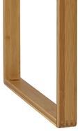 Bank Mirella - Buchefarben, MODERN, Holz (80/45/40cm) - Mömax modern living