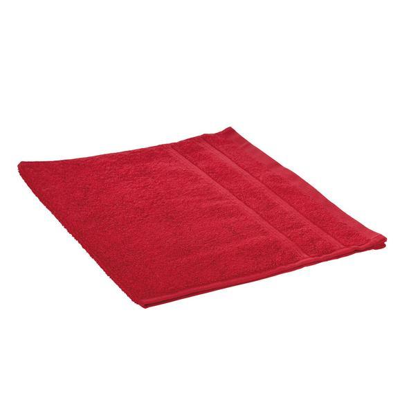 Brisača Melanie - rdeča, tekstil (30/50cm)
