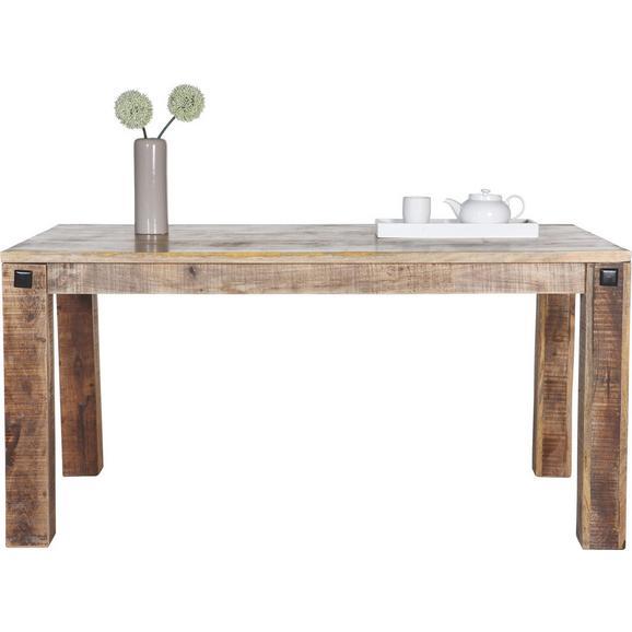 esstisch braun mangoholz online kaufen m max. Black Bedroom Furniture Sets. Home Design Ideas