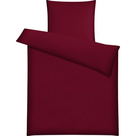 Bettwäsche Brigitte in Rot ca. 135x200cm - Rot, KONVENTIONELL, Textil - Mömax modern living