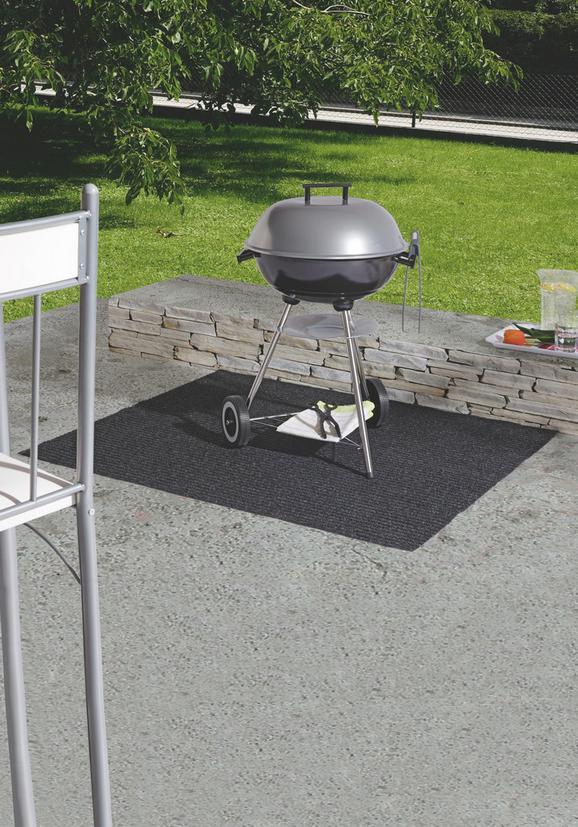 Grillmatte Barbeque - Anthrazit, Textil (100/120cm) - MÖMAX modern living