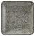 Platte Grau - Grau, Keramik (12,5cm) - Mömax modern living
