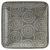 Platte Nina aus Porzellan - Grau, Keramik (12,5cm) - Mömax modern living
