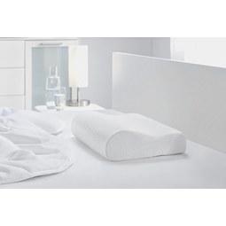 Vzglavnik Za Vrat Visco Comfort - bela, tekstil (30/48/11cm) - MÖMAX modern living