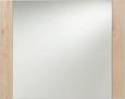 Ogledalo Danilo - bukev, Moderno, steklo/leseni material (100/80/2cm) - Mömax modern living