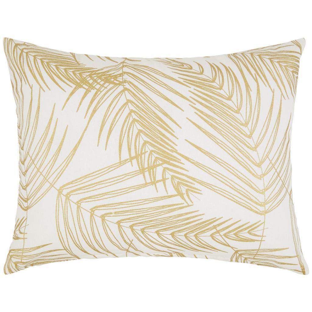 Zierkissen Laguna Weiß/gold 40x50cm