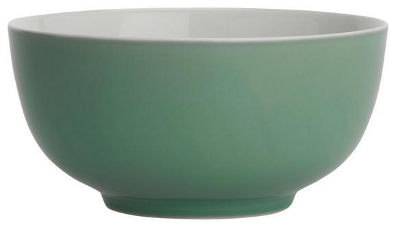 Müslischale Sandy Mint aus Keramik - Mintgrün, KONVENTIONELL, Keramik (13,7/6,6cm) - Mömax modern living