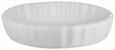Auflaufform Pura in Weiß aus Keramik - Weiß, MODERN, Keramik (16,2/3,5/16,2cm)