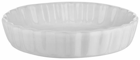 Pekač Pura - bela, Moderno, keramika (16,2/3,5/16,2cm)