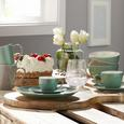Kaffeetasse mit Untertasse Sandy Mint aus Keramik - Mintgrün, KONVENTIONELL, Keramik (5/6,9cm) - Mömax modern living