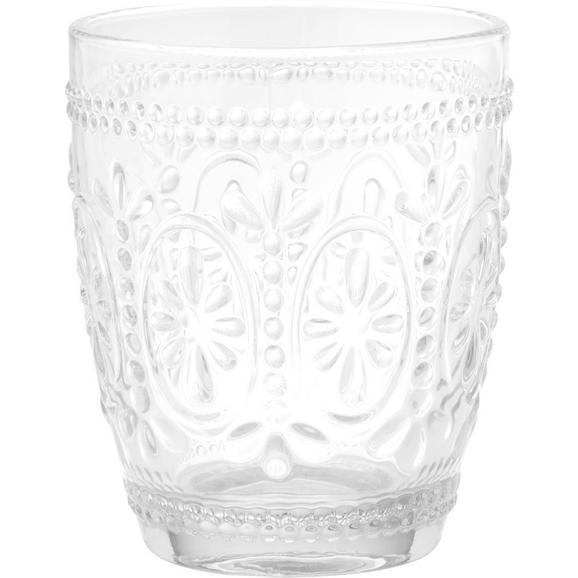 Kozarec Za Vodo St. Remy - prozorna, Romantika, steklo (8,1/9,8cm) - Mömax modern living