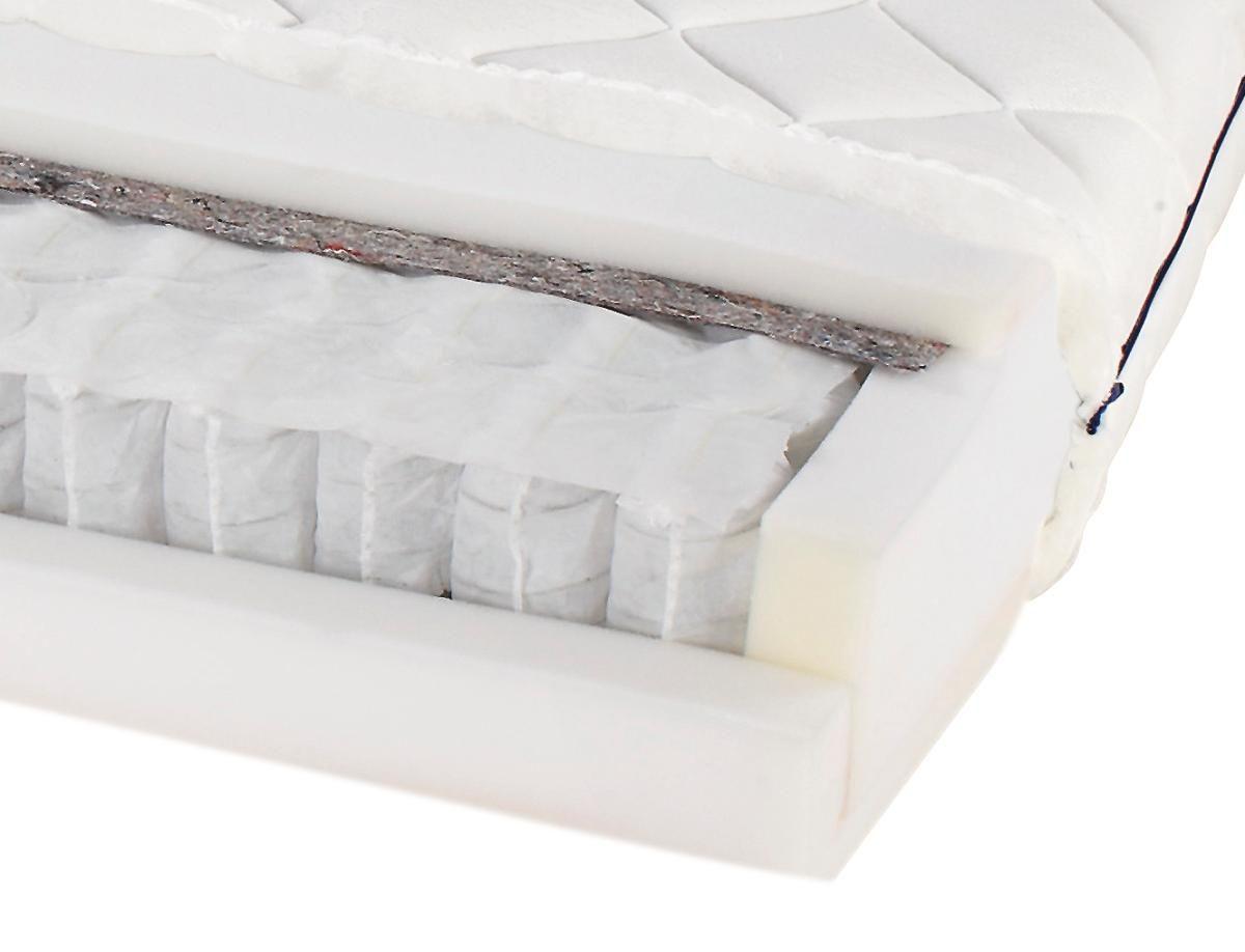 Matrac Primavera - fehér, textil (90/200cm) - PRIMATEX