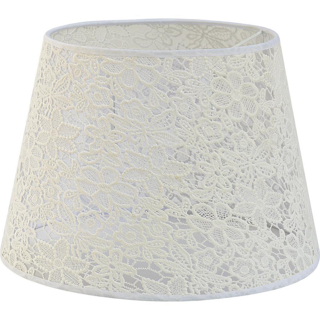 Leuchtenschirm Rossi Weiß