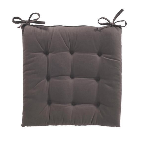 Pernă Şezut Lola - Maro, Material textil (40/40/2cm) - Based