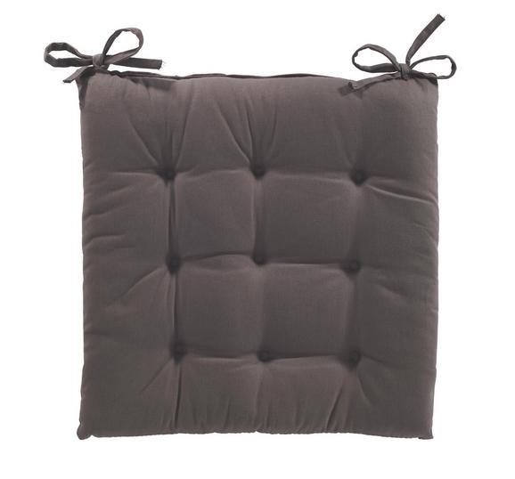 Sedežna Blazina Lola - rjava, tekstil (40/40/2cm) - Based