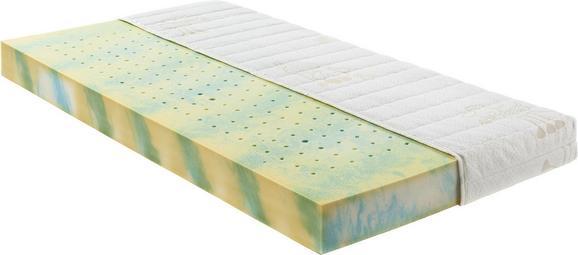 Kaltschaummatratze ca. 70x140cm - Gelb/Weiß, Textil (70/140cm) - NADANA