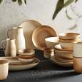 Krug Sahara aus Keramik ca. 1,3l - Braun, LIFESTYLE, Keramik (16/12/22cm) - Zandiara