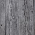Windlicht Ria inkl. Glas H ca. 78 cm - Weiß, MODERN, Holz (4,3kg) - Mömax modern living