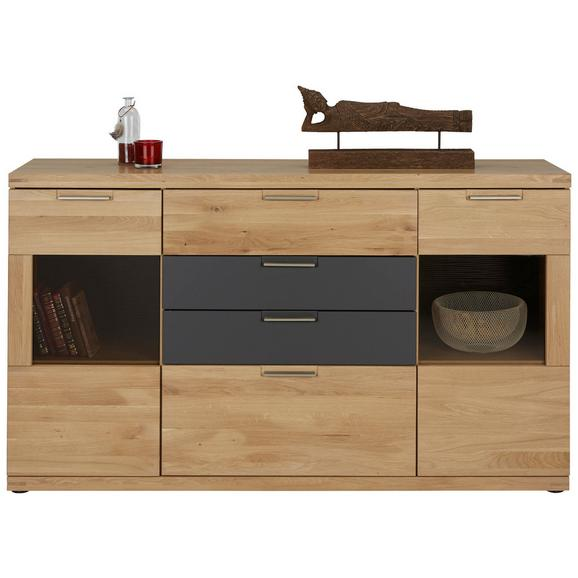 sideboard in graphit eiche online kaufen m max. Black Bedroom Furniture Sets. Home Design Ideas