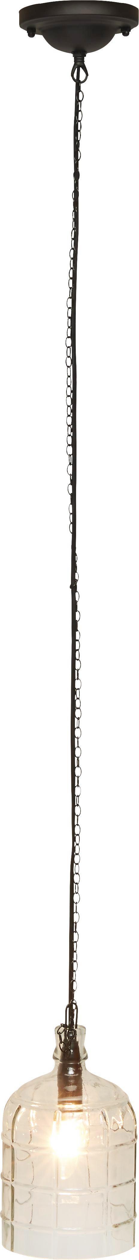 Függőlámpa Astrid - fekete, Lifestyle, fém (14,5/150cm)