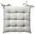 Sitzkissen Bill Hellgrau 40x40cm - Hellgrau, Textil (40/40cm) - Mömax modern living