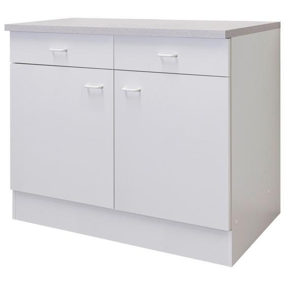 Corp Inferior De Bucătărie Speed  Us 100-50 W - alb, Konventionell, plastic/compozit lemnos (100/85/47cm)