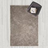 Hochflorteppich in Grau ca.160x230cm 'Shaggy' - Grau, MODERN, Textil (160/230cm) - Bessagi Home