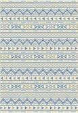 Flachwebeteppich Kelim Blau/natur 160x230cm - Blau/Naturfarben, MODERN, Textil (160/230cm) - Mömax modern living