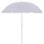 Sonnenschirm Lecci in Weiß - Weiß, Kunststoff/Textil (180/190cm) - Mömax modern living