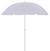 Sonnenschirm Lecci Weiß - Weiß, Kunststoff/Textil (180/190cm) - Mömax modern living