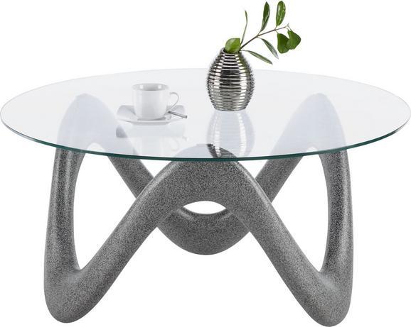 Couchtisch glas oval schwarz  Couchtisch Glas Betonoptik online kaufen ➤ mömax
