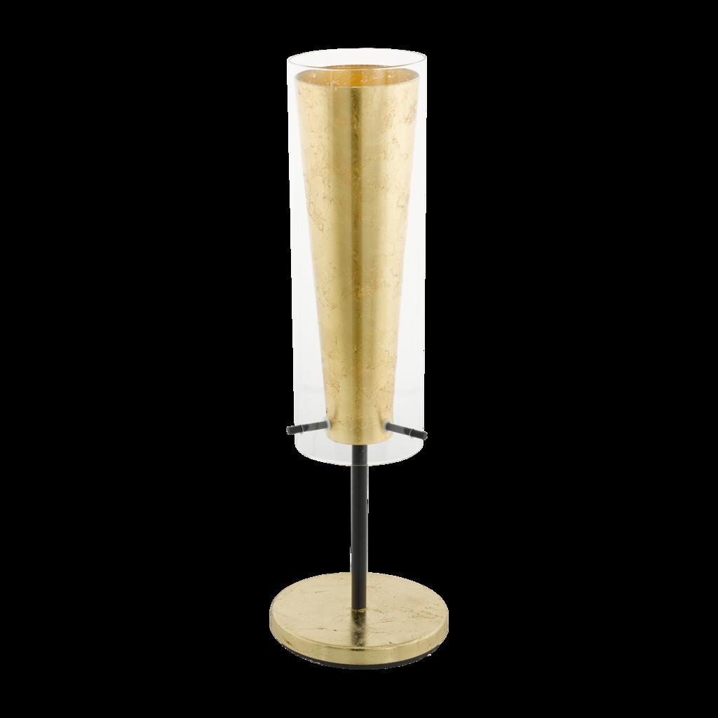 Tischleuchte max. 60 Watt 'Pinto Gold'