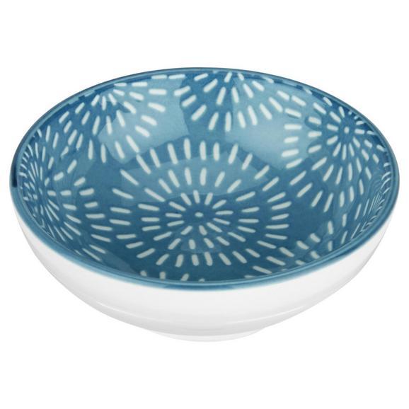 Dipschale Nina aus Porzellan Ø ca. 8cm - Blau, Keramik (8cm) - Mömax modern living