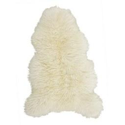 Schaffell Jenny in Weiß, ca. 90x60cm - Weiß, Textil (90-105/60cm) - Mömax modern living