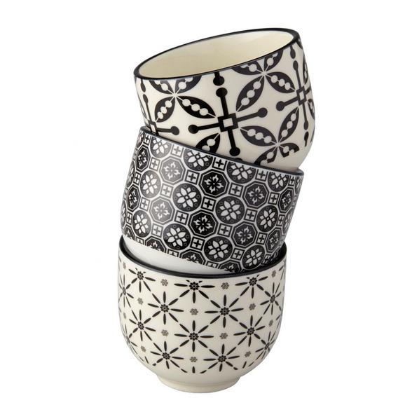 Pohár Shiva - fekete/fehér, Lifestyle, kerámia (7/6cm) - MÖMAX modern living