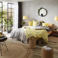 Lenjerie De Pat Brigitte - gri, Konventionell, textil (140/200cm) - Modern Living