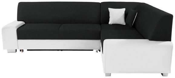 Funkcijska Sedežna Ganritura Miami - črna/bela, Moderno, umetna masa/tekstil (260/210cm) - MÖMAX modern living