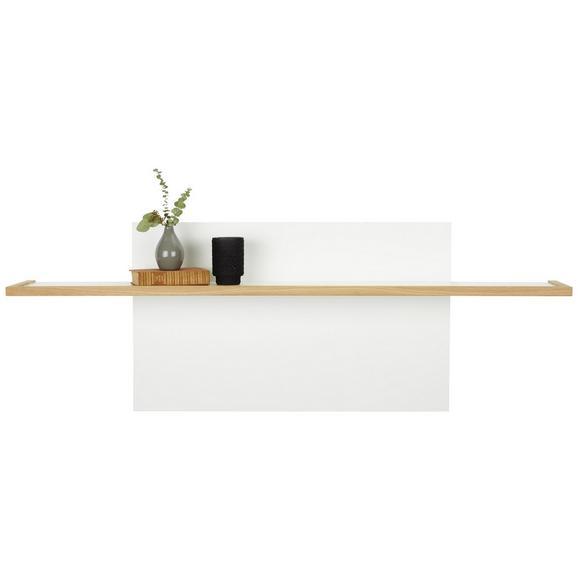 Wandpaneel in Weiß - Weiß, MODERN, Holzwerkstoff (150/204/25cm) - Premium Living