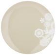 Dessertteller Lacey Grau - Grau, ROMANTIK / LANDHAUS, Keramik (20cm) - Mömax modern living
