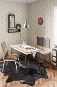 Esstisch in Bunt - Multicolor/Schwarz, LIFESTYLE, Holzwerkstoff/Kunststoff (120/75/60cm) - MÖMAX modern living