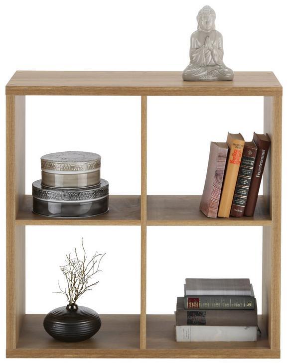 Raumteiler Eichefarben - Eichefarben, MODERN, Holzwerkstoff/Kunststoff (73/73/33cm) - MÖMAX modern living